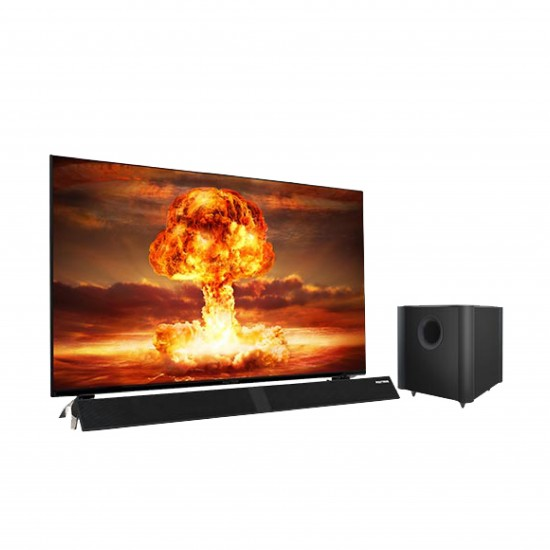 LED TV 40 Inch Polytron Full HD Cinemax Soundbar PLD-40B8951