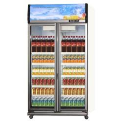 Showcase 2 Pintu Polytron 1000 Liter Display Cooler SCN-1020