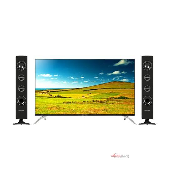 LED TV 40 Inch Polytron Full HD Cinemax Sound Tower PLD-40T8950