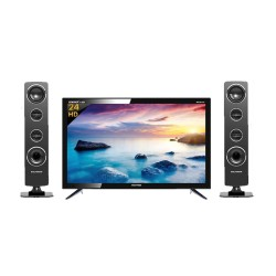 LED TV 24 Inch Polytron HD Ready Cinemax Sound Tower PLD-24T1850