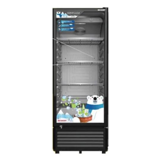 Showcase 1 Pintu Sharp 250 Liter Display Cooler SCH-250FS