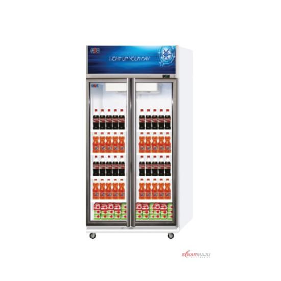 Showcase 2 Pintu GEA 600 Liter Display Cooler EXPO-600AH/CN