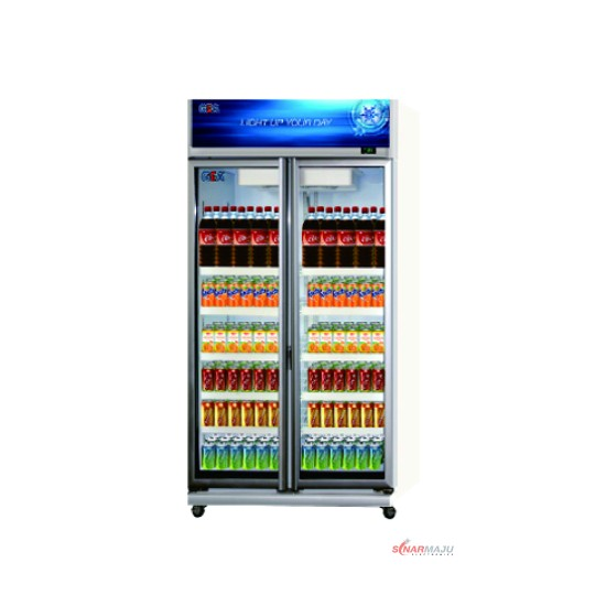 Showcase 2 Pintu GEA 800 Liter Display Cooler EXPO-800AH/CN EXPO-800AH/CN