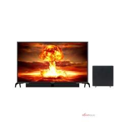 LED TV 43 Inch Polytron Full HD Cinemax Soundbar PLD-43BS1553/W