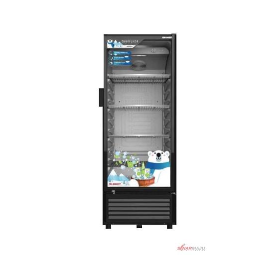Showcase 1 Pintu Sharp 200 Liter Display Cooler SCH-120FS