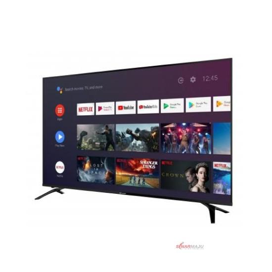 LED TV 60 Inch Sharp Android TV 4K UHD 4T-C60CK1X