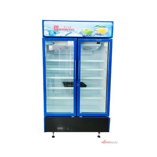 Showcase 2 Pintu Daimitsu 730 Liter Display Cooler DISC-8000