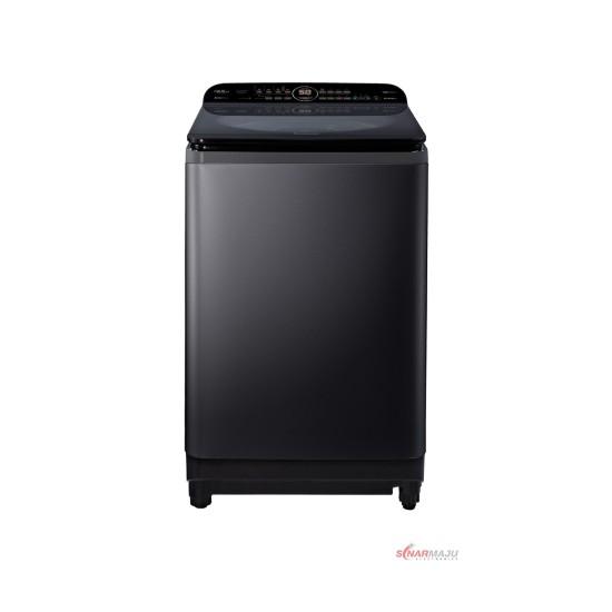 Mesin Cuci 1 Tabung Panasonic 13.5 Kg Top Loading NA-FD13AR1BS
