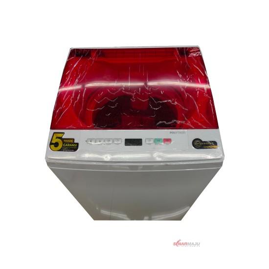 Mesin Cuci 1 Tabung Polytron 8 Kg Top Loading PAW-8527R/X