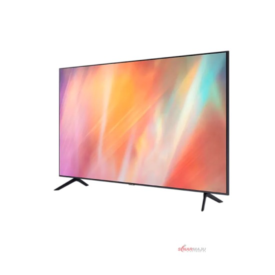 LED TV 55 Inch Samsung 4K UHD Smart TV UA-55AU7000