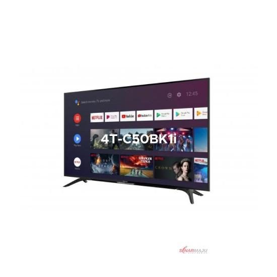 LED TV 50 Inch Sharp 4K UHD Android TV 4T-C50BK1