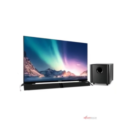 LED TV 40 Inch Polytron Full HD Cinemax Soundbar PLD-40BS8953