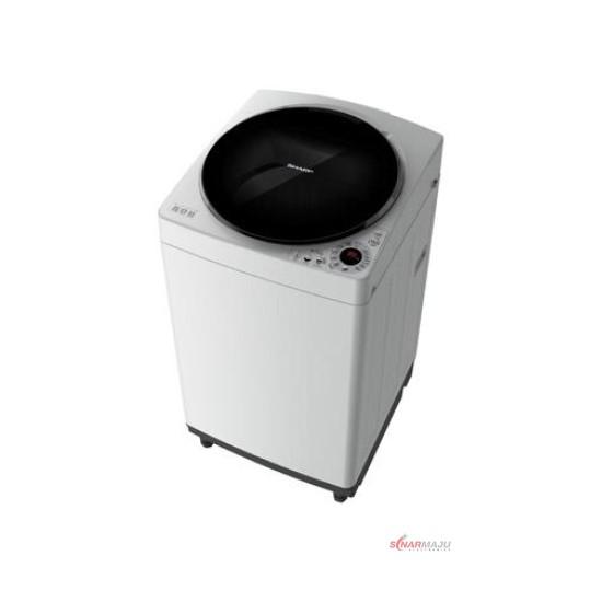 Mesin Cuci 1 Tabung Sharp 9 Kg Top Loading ES-M909T-GG