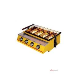Kompor Gas Panggang Getra 4 Tungku BBQ ET-K222