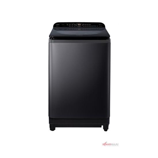 Mesin Cuci 1 Tabung Panasonic 12.5 Kg Top Loading NA-FD12AR1BS