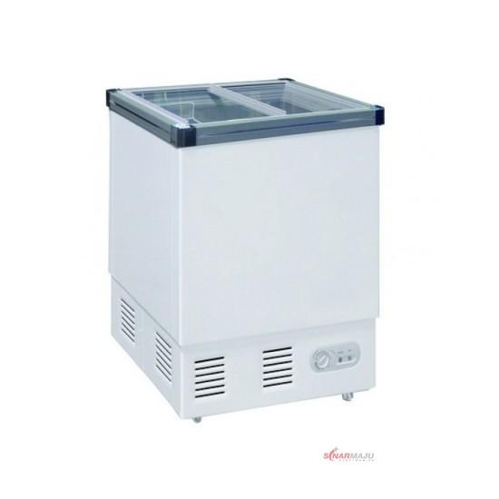 Chest Freezer Sliding Glass GEA 132 Liter SD-132P