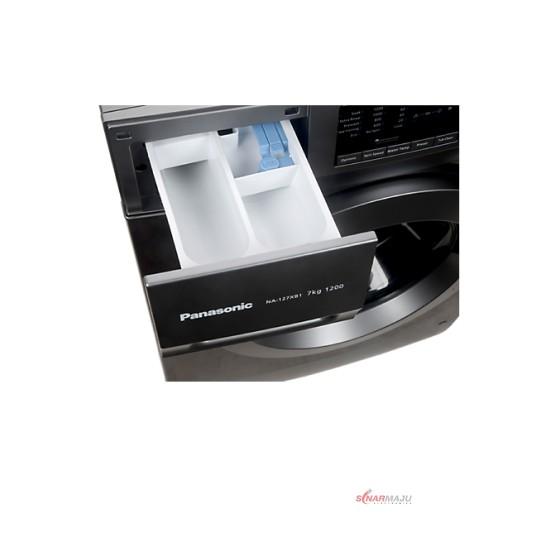 Mesin Cuci 1 Tabung Panasonic 7 Kg Front Loading NA-127XB1LNE