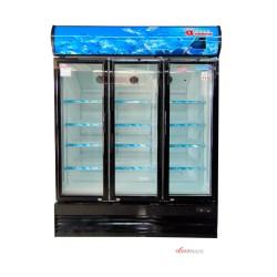 Showcase Daimitsu 3 Pintu 1080 Liter Display Cooler DISC-1080