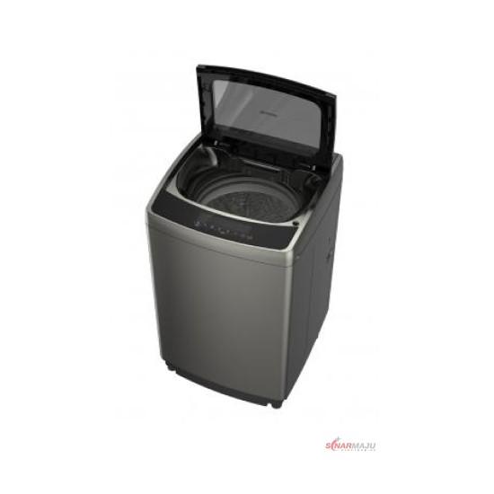 Mesin Cuci 1 Tabung Sharp 15 Kg Top Loading ES-F1500X-GY