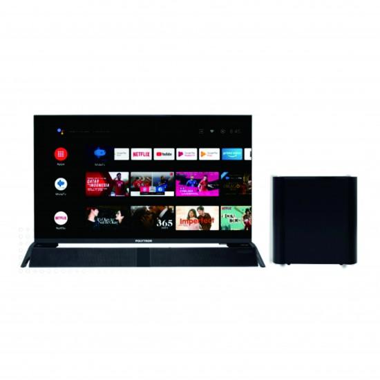 LED TV 32 Inch Polytron HD Ready Android TV Cinemax Soundbar TV PLD-32BAG9953