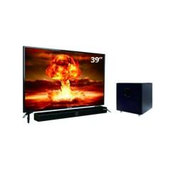 LED TV 40 Inch Polytron HD Ready Cinemax Soundbar PLD-40B8850/W