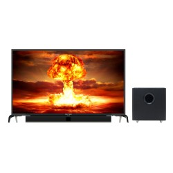 LED TV 43 Inch Polytron Full HD Cinemax Soundbar PLD-43B1550/W