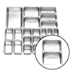 Food Pan Stainless Steel GETRA FP 1/3-6