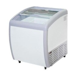 GEA Sliding Curve Glass Freezer 160 Liter SD-160BY
