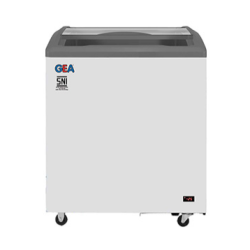 GEA Sliding Curve Glass Freezer 165 Liter SD-165