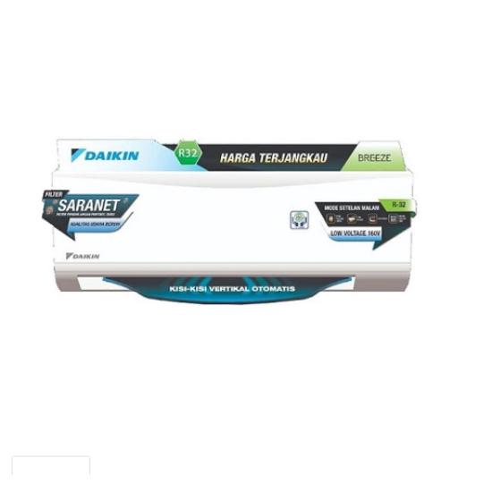 Daikin AC Standar 1/2 PK FTP-15AV14 Breeze Standard
