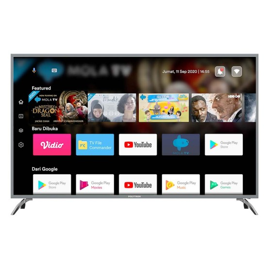 Polytron LED TV 40 Inch Full HD Android TV PLD-40AS8858/G