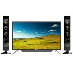 Polytron LED TV 32 Inch HD Ready Cinemax Sound Tower PLD-32T1550/S
