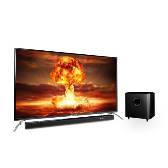 LED TV 50 Inch Polytron Full HD Cinemax Soundbar PLD-50BS873