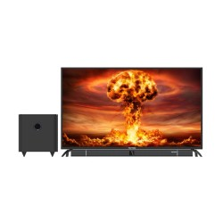 Polytron LED TV 50 Inch Full HD Cinemax Soundbar PLD-50B8750/W