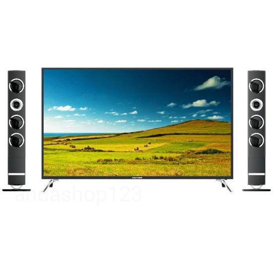Polytron LED TV 40 Inch Full HD Cinemax Tower Speaker PLD-40TS153/U