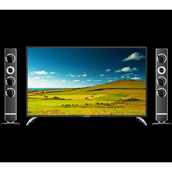 LED TV 50 Inch Polytron Full HD Cinemax Tower Speaker PLD-50TS873