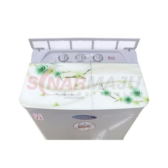 Mesin Cuci 2 Tabung Daimitsu 9 Kg Twin Tub DIW-920SMA