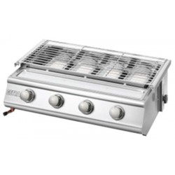 Getra 4 Burner BBQ Stainless BS-214