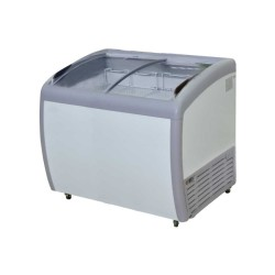 GEA Sliding Curve Glass Freezer 260 Liter SD-260BY