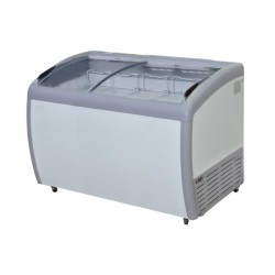 GEA Sliding Curve Glass Freezer 360 Liter SD-360BY
