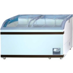 GEA Sliding Curve Glass Freezer 500 Liter SD-500BY