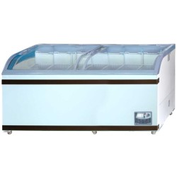GEA Sliding Curve Glass Freezer 700 Liter SD-700BY