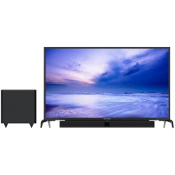 Polytron LED TV 32 inch HD Ready PLD-32B1550/W Cinemax Soundbar