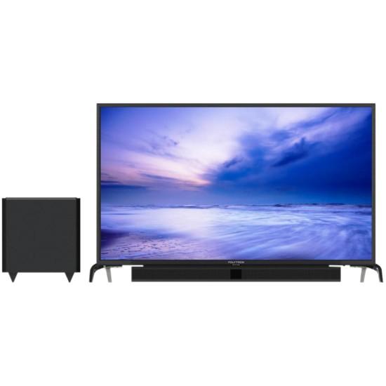 Polytron LED TV 32 inch HD Ready PLD-32B1550/W Cinemax Soundbar