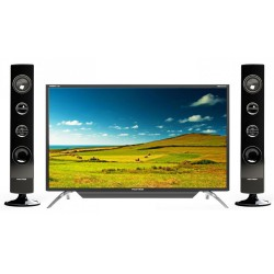 Polytron LED TV 43 Inch Full HD Cinemax Tower Speaker PLD-43TS156