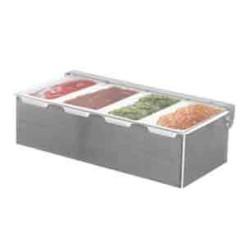 Getra Tempat untuk Bumbu Masakan Condiment Holder 4 Grid CH-4