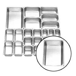 Stainless Steel Food Getra Pan FP-1/1-2.5