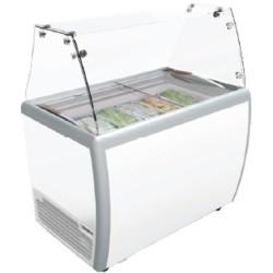Showcase Gelato Ice Cream GEA Scooping Cabinet 5 Bin RI-260AUG