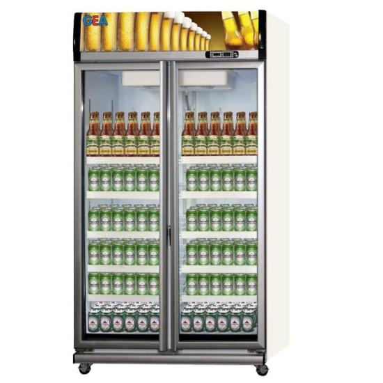 Showcase 2 Pintu GEA 1050 Liter Beer Cooler EXPO-1050BC