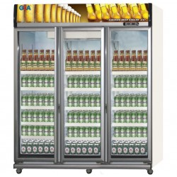 Showcase 3 Pintu GEA 1500 Liter Beer Cooler EXPO-1500BC